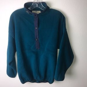 Orvis Vintage 1/2 Button Down Pullover Women's S